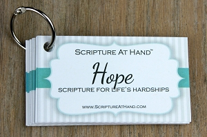 Hope | Scripture for life's hardships | Signature