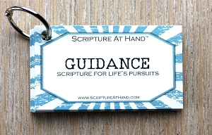 Guidance | Scripture for life's pursuits | Trendy